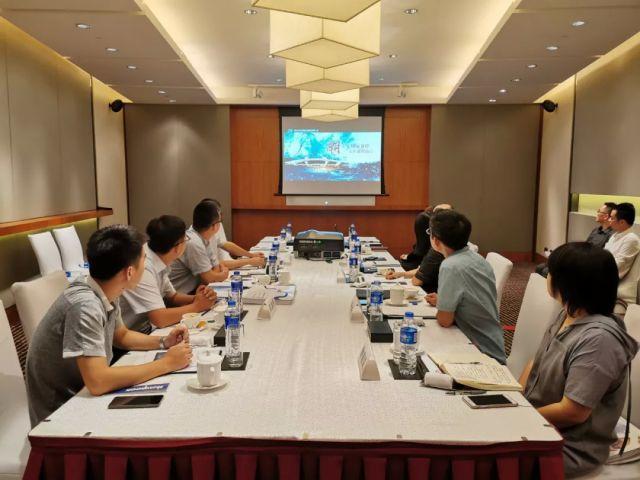 钱投 · 会展旅业与大江东开发公司开展业务交流