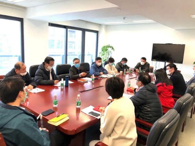 上海:张国华总经济师开展会展场馆专题调研