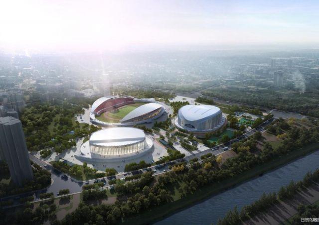 7000座的体育场、700座的游泳馆……宁波将多一个体育中心