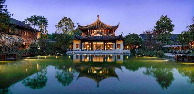 隐匿于西湖深处的园林仙境——杭州西子湖四季酒店
