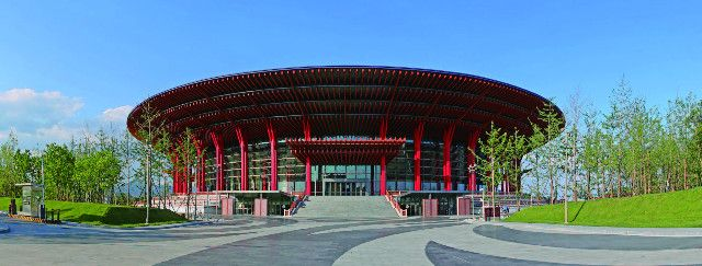 """北京雁栖湖国际会展中心的""""低碳""""奥秘"""