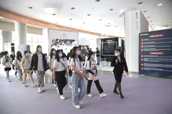 国家会议中心接待北京联合大学旅游学院师生参观学习
