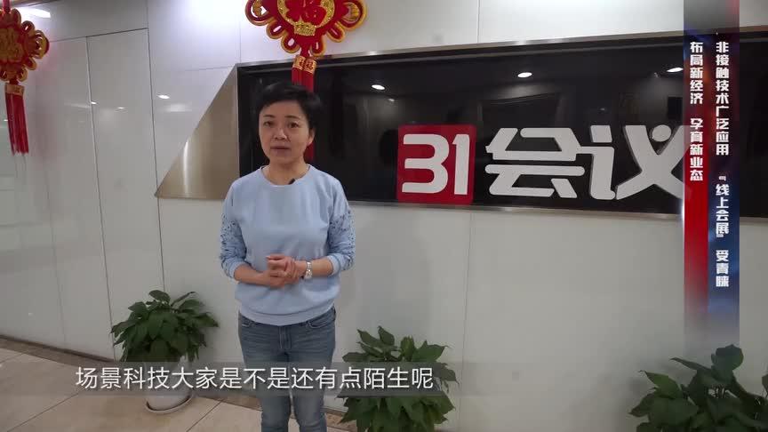 31会议创始人白桂香谈线上展览